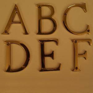 Metal Alphabets