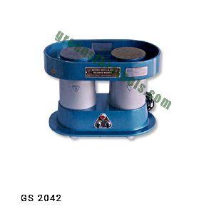 Double Disc Watch Glass Polishing Machine