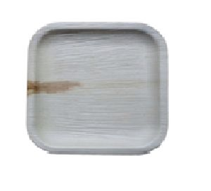 8 Inch Square Eco Leaf Plate