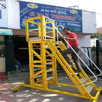 FRP Mobile Platform Ladder