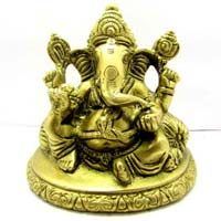 Brass God Statue