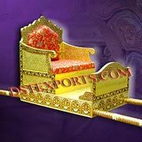 Wedding Brass Meenakari Doli
