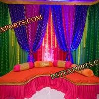 Punjabi Function Mehandi Stage