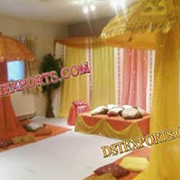 Wedding Mehandi Stage Umberalas