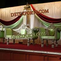 Wedding Silver Carved Furniture