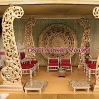 Wedding Wooden Carved Welcome Gate