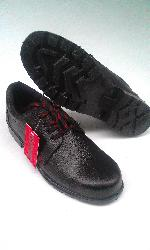 Derby Black Shoes - Fusion