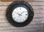 Wooden Carving Wall Clock R-0952