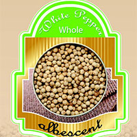 Certified Organic Whole White Pepper
