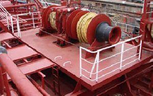 Hydraulic & Electrical Deck Winches