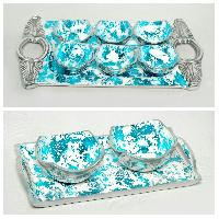 Blue Aluminium Gift Items