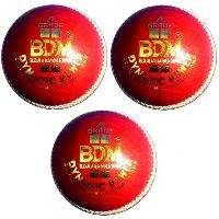 3 set BDM Dynamic Power Leather Cricket Ball
