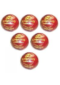 BDM King Fisher League Leather Cricket Ball