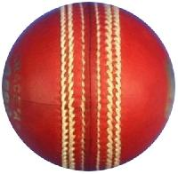 BDM Kingfisher Turf Leather Ball