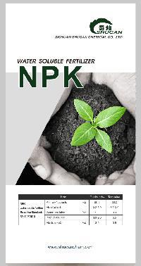 100% Water Soluble Npk Fertilizer