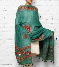 Embroidered Cotton Dupatta