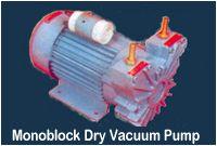 Monoblock Dry Vacuum Pump