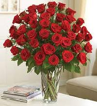 Enigmatic Red Rose Bouquet