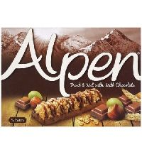 Alpen Light Milk Chocolate Bars