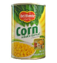 420gm Del Monte Whole Corn Kernel