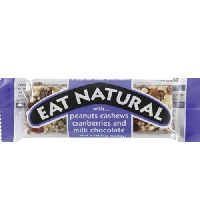 45gm Eat Natural Peanuts Cashews Cranberries Chocolate