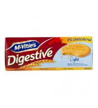 400gm McVities digestive light biscuits