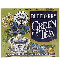 Mlesna Blueberry Green Tea