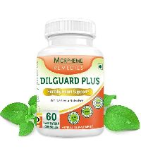 Morpheme Dilguard Plus for Healthy Heart Support 500mg Extract 60 Veg Capsules
