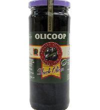 Olicoop Black Slice Olive, 450gm