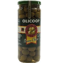 450GM OLICOOP Green Whole Olive