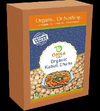 500gm Orna Organic Kabuli Chana Vacuum Packed