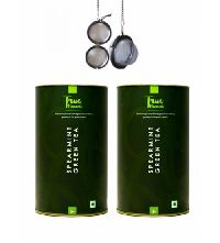 100gm True Elements Spearmint Green Tea