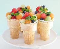 Fruit Cup Ice Cream