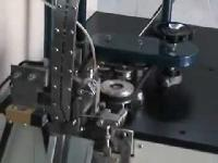 Wick Cutting And Inserting Machine