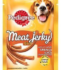 Pedigree Meat Jerky Stix, Smoked Salmon, 60g