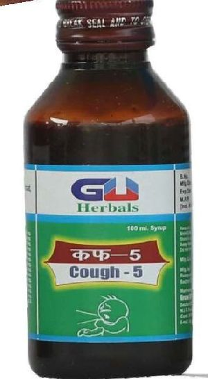Honey,tulsi Cough Herbal Syrup