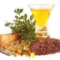 Flax Seed Oil 500 Mg Capsules