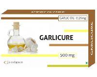 500mg Garlicure Garlic Oil Capsules