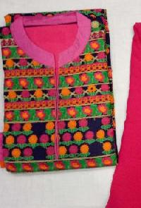 Ladies Embroidered Unstitched Suits