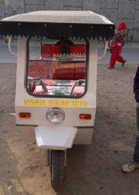 V002 Solar Electric Rickshaw