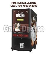 Cafe Desire Coffee Tea Vending Machine (4 Lane)