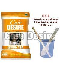 Certified Cafe Desire Instant Lemon Tea Premix - 1 kg