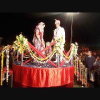 Revolving Wedding Stage