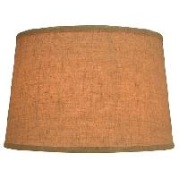 Jute Fabric Drum Lamp Shade