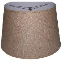 Linen + Cotton Fabric mixed Drum Lamp Shade