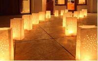 Eco Friendly Diwali Gift Candle Led Lamp Holder