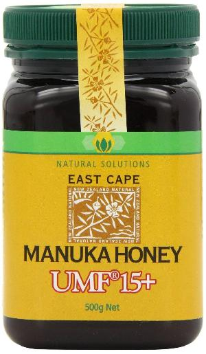 100% Natural Pure New Zealand Sertified East Cape Manuka Honey UMF 15+ (500g)