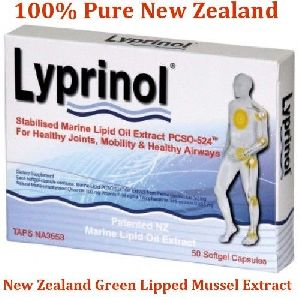 Lyprinol New Zealand Green Lipped Mussel Extract 50 Capsules Joint Support