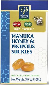 New Zealand Manuka Honey MGO 400+ And Propolis BIO30 Suckles (100g)
