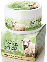 New Zealand Wild Ferns Lanolin Night Creme With Manuka Honey & Royal Jelly (100g)